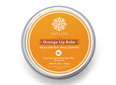 Satliva Orange Lip Balm