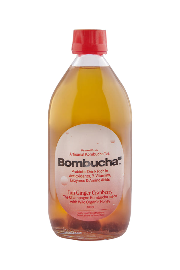 Jun Kombucha with Ginger & Cranberry
