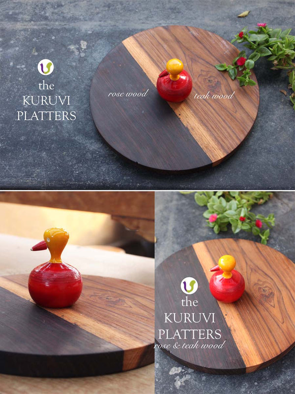 Varnam Craft Collective KURUVI Platters