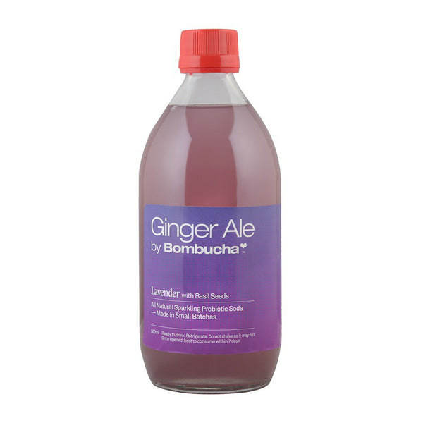 Ginger ale - Lavender with Basil Seeds