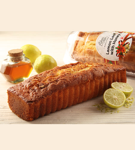 Lemon Loaf with Honey