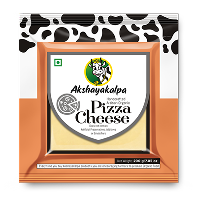 Akshayakalpa Organic Pizza Cheese