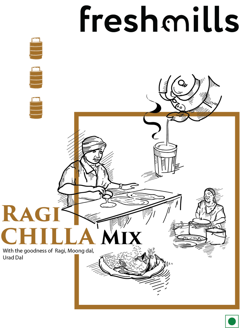 Ragi Chilla Mix