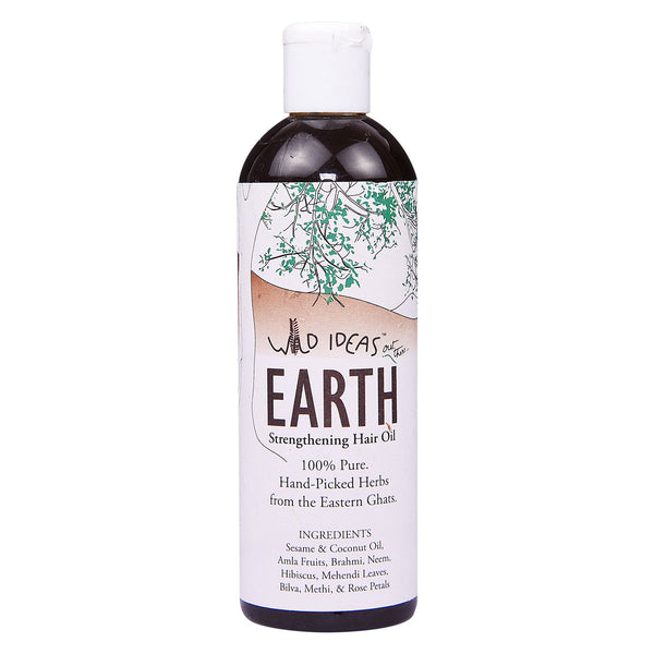 Wild Ideas Earth - Strengthening Hair Oil