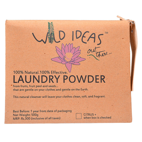Wild Ideas Laundry Powder with Citrus