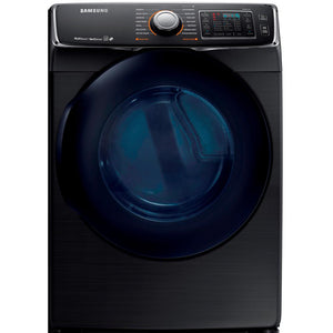 DV45K6500EV Samsung 7.5 CF 14 Cycle Electric Dryer in Black SS