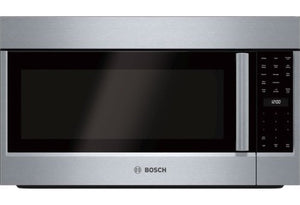HMB57152UC Bosch - 500 Series 27 in. 1.6 cu. ft. Built-In Microwave in Stainless Steel with Drop Down Door and Sensor Cooking