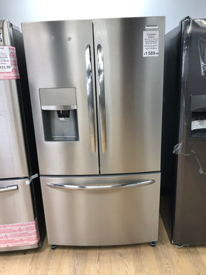 Frigidaire 26.8 cu. ft. French Door Refrigerator in Smudge-Proof Stainless Steel FGHB2868TF