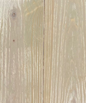 "P-UAGRAY5 Antiqued Gray Pine 5/8"" x 5-1/8"" Utility Solid Hardwood 23.3sf/box"