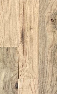 "UNFINISHED 3/4 x 3-1/4"" Red Oak Utility Hardwood Flooring sold 18.75sf/bdl"