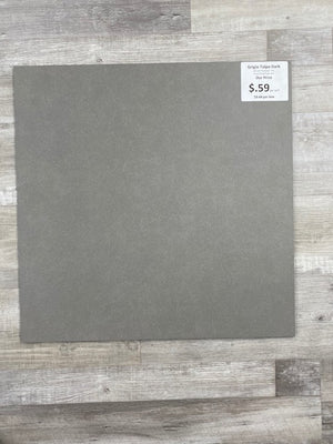 "Grigio Talpa Dark 24""x24"" Porcelain Tile 4pcs/16sf per box"