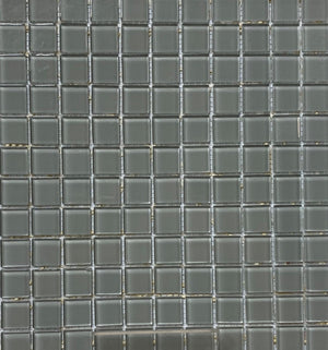 "Pewter Glass 12""x12"" Mosaic Tile by Daltile 20SF Box"