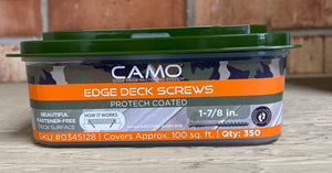 Camo Edge Deck Screws 350 Box