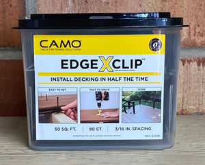 Camo Edge Xclip 90 ct