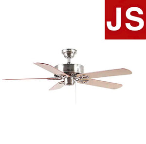 80297 - Harbor Breeze Classic 52-in Brushed Nickel Indoor Ceiling Fan (5-Blade)