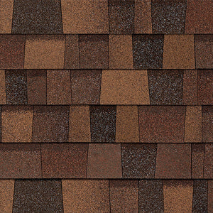 Bold Rustic Orange Architectural WRAPPED Shingles BY THE BUNDLE No Warranty