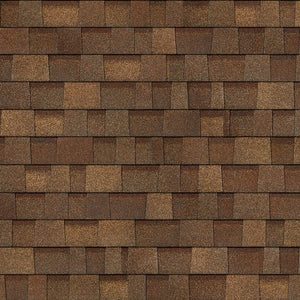 Rustic Brown Architectural WRAPPED Shingles BY THE BUNDLE No Warranty