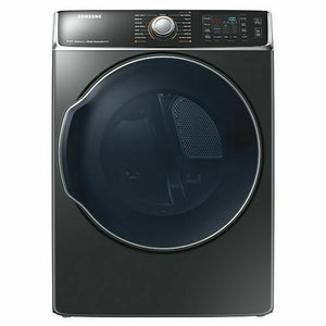dv56h9100ev/a2 Samsung 9.5 Cu. Ft. Electric Dryer In Black Stainless Steel
