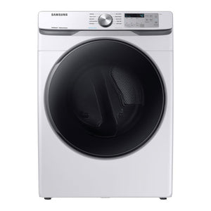 DVG45R6100W/A3 - Samsung - 7.5 Cu. Ft. 10-Cycle Gas Dryer with Steam - White