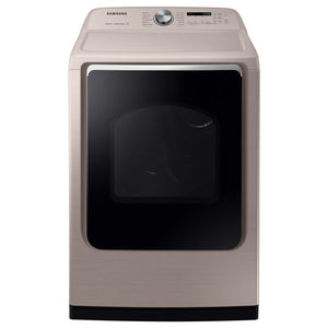 DVG54R7600C - Samsung 7.4 cu. ft. Gas Dryer with Steam Sanitize+ in Champagne