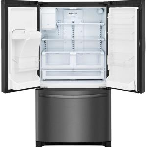 FFHB2750TD 26.8 cu. ft. French Door Refrigerator in Black Stainless Steel