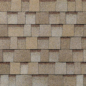 Beige Architectural WRAPPED Shingles BY THE BUNDLE No Warranty