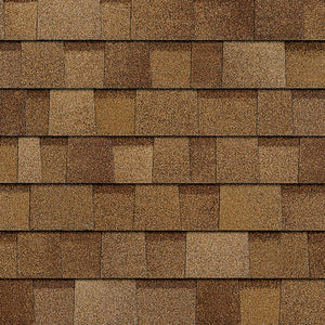 Golden Brown Architectural WRAPPED Shingles BY THE BUNDLE No Warranty