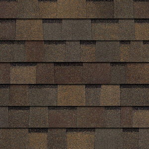 Warm Brown Architectural WRAPPED Shingles per bundle No Warranty