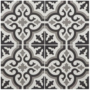 1345077 - Style Selections 9-in x 9-in Groutable Multi Color Peel and Stick Vinyl Tile (16.8sqft per box)