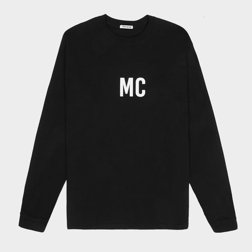 MC LOGO LONG SLEEVE TEE
