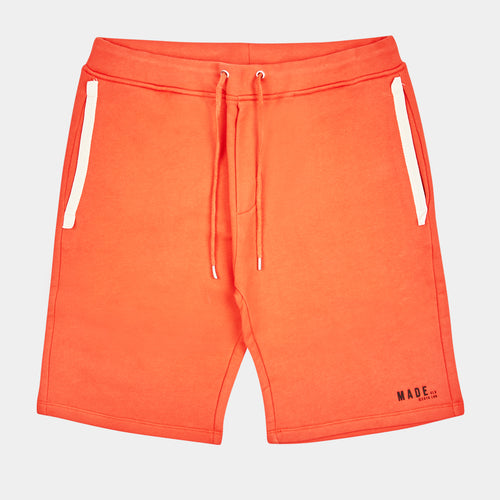 CORAL RED JOG SHORTS