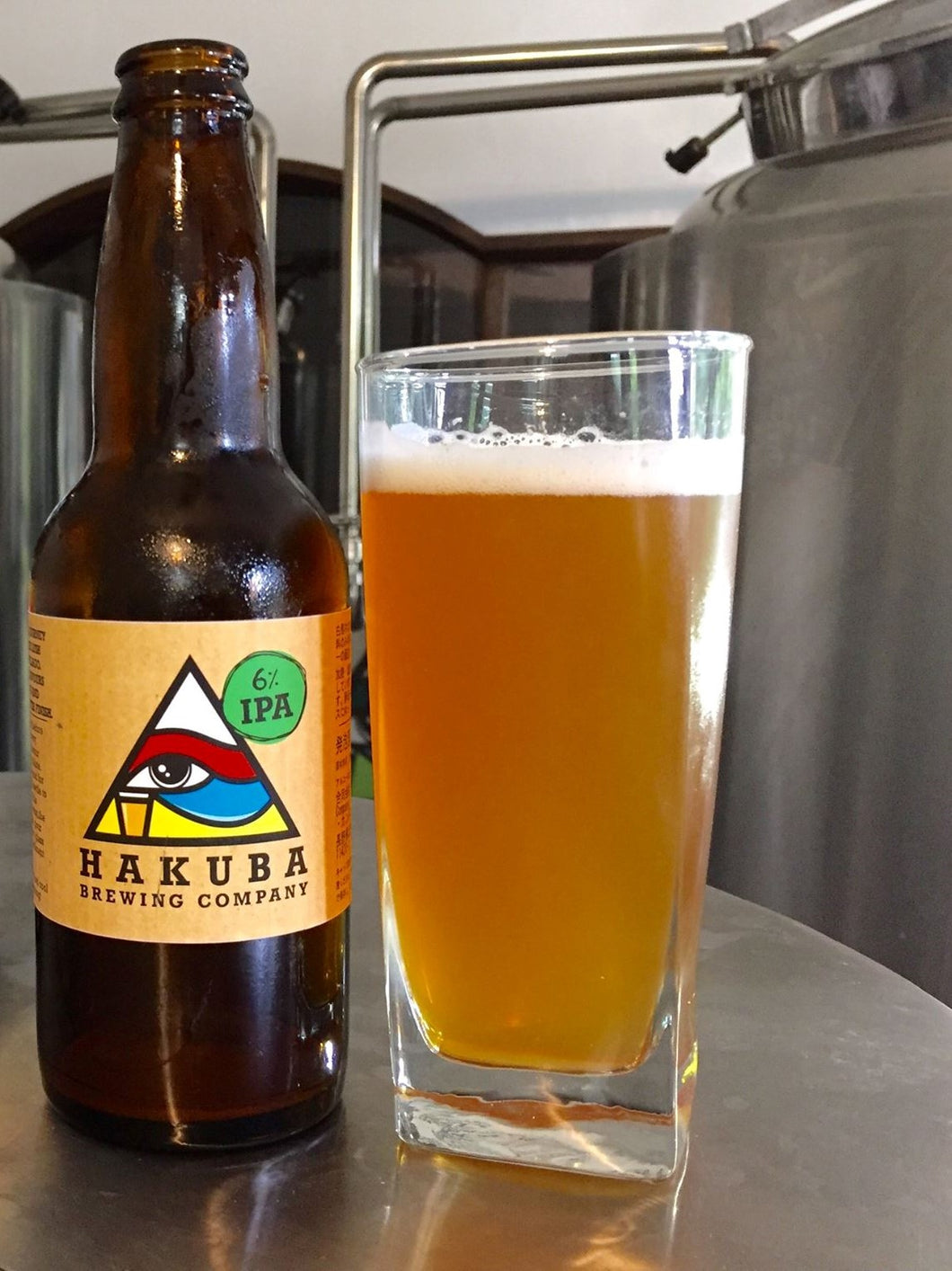 Hakuba IPA Bottle 330ml x6