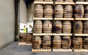 Barrels and Wood in Whiskey
