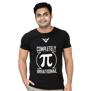 FMstyles Completely Pai Irrational Black Unisex Tshirt FMS334