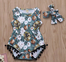 Load image into Gallery viewer, Pom Pom Princess Romper