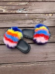 Mommy's Fuzzy Wuzzy Slides- Candy Cane Remix