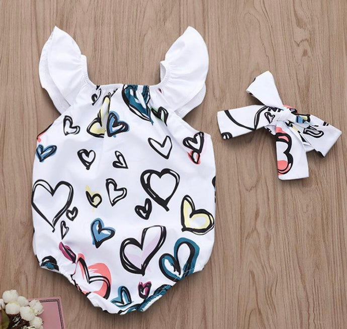 All Heart Romper