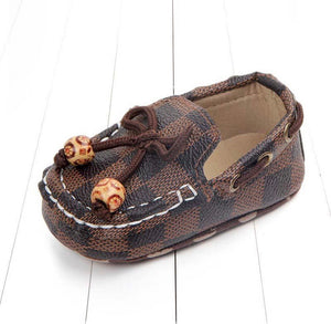LV Inspired Moccasins