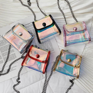 Laser Holographic Mini Purse