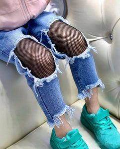 Laced Up Jeans