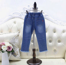 Load image into Gallery viewer, Laced Up Jeans
