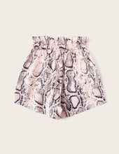 Load image into Gallery viewer, Snakeskin Print Shorts (Pink)