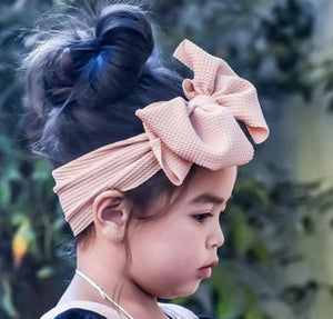 Baby/Girl's BIG Bow Headdress