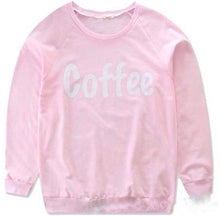 "Load image into Gallery viewer, ""Coffee"" Sweatshirt"
