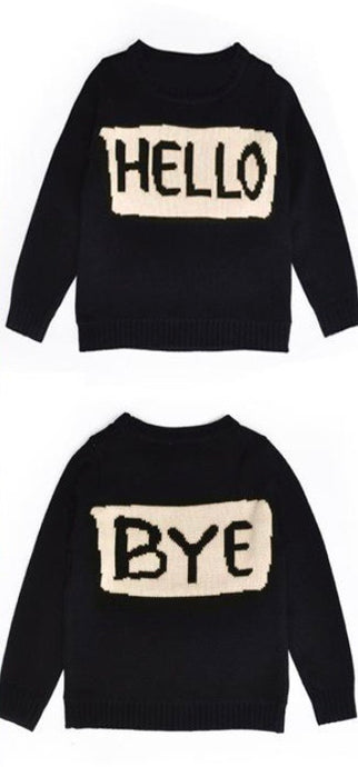 Hello, Goodbye Knit Sweater