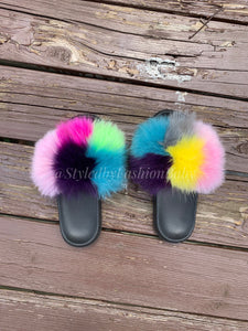 Mommy's Fuzzy Wuzzy Slides-Squared Away