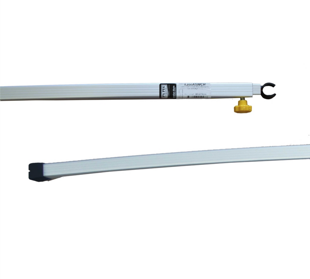 CURVED AWNING POLE (WING AWNING 7ft 213cm SPREADER 8000ASWCR)