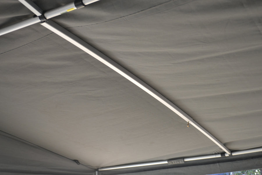 Adjustable T-Nut curved camper rafter