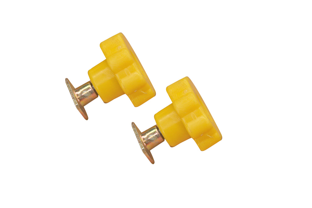 YELLOW DAISY WHEEL WITH T -NUT, 2 PACK