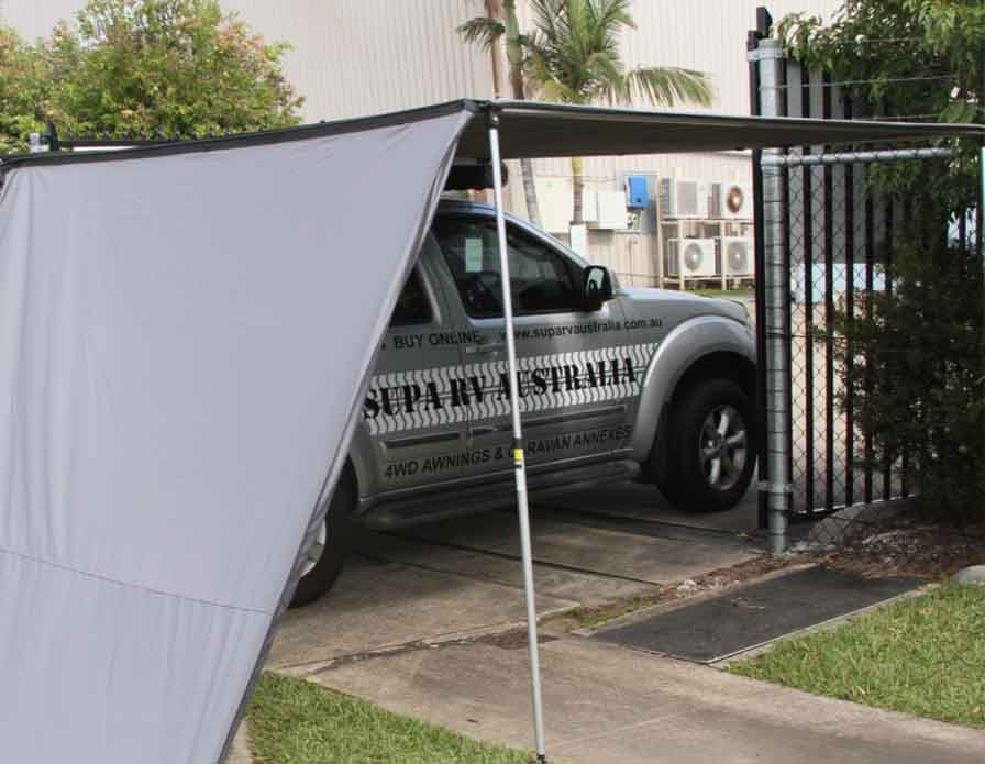 Rear Awning front wall keddar 1.3M x 2.0M (out)